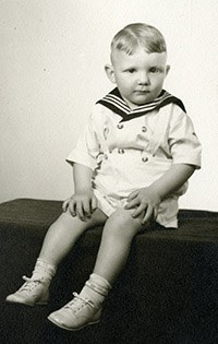 Ivan Clark Doig, at age 2 and a half.